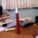 Gök-Türk 1 Model Roketi Gövde(model rocket body)