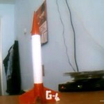 Gök-Türk 4 Model Roketi