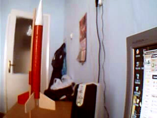 Gök-Türk 1 Model Roketi