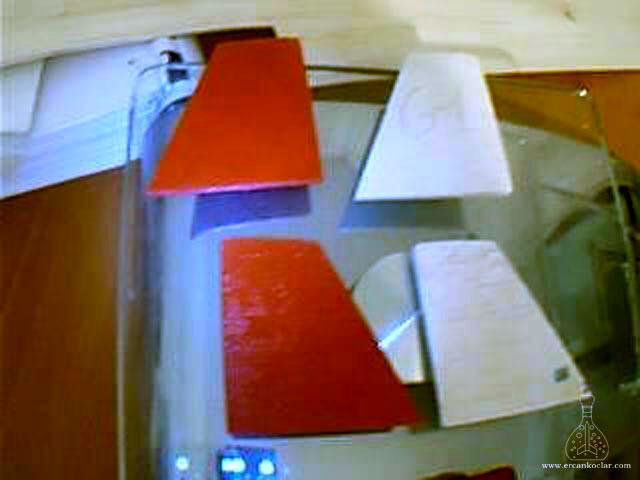 Gök-Türk 1 Model Roketi Kanatçıklar