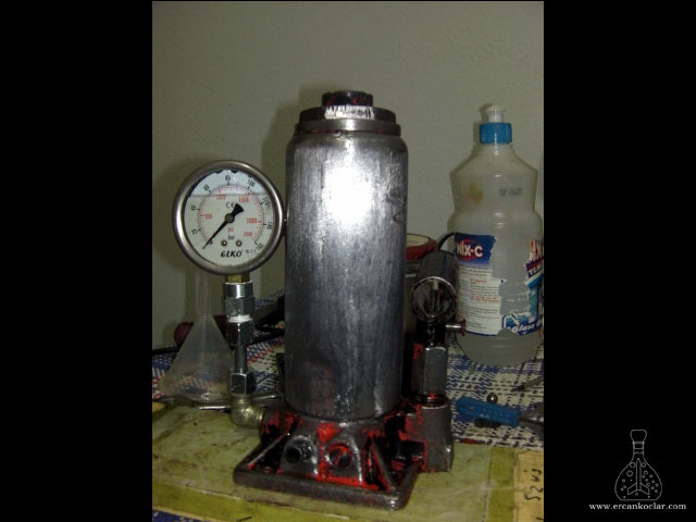 Hidrolik Pres Basınç Saati