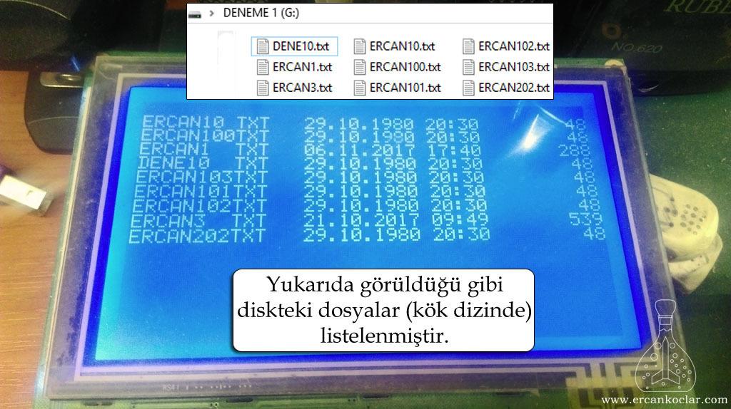 fat32-dosya-listeleme-GLCD
