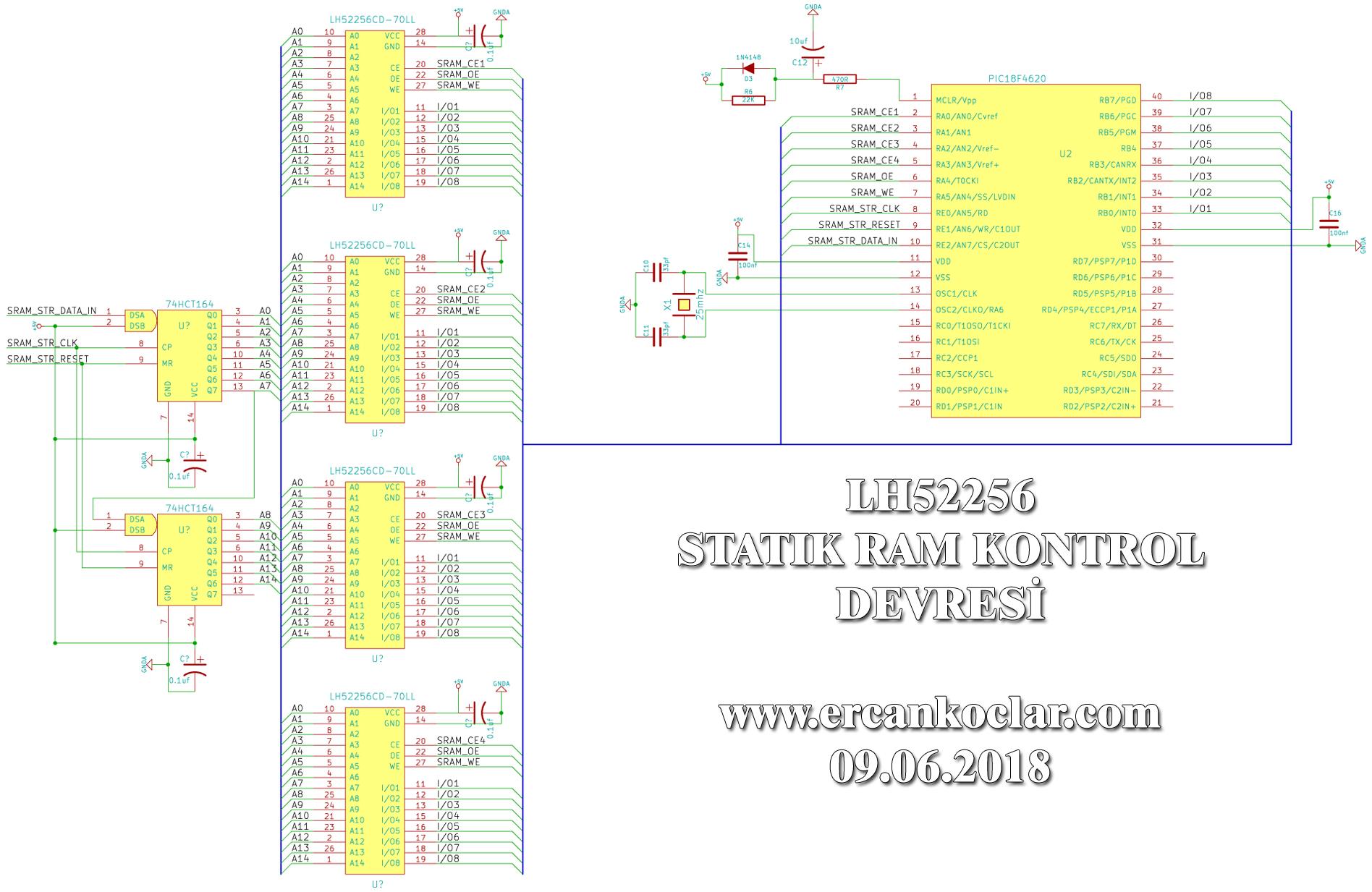 LH52256-SRAM-devre-semasi