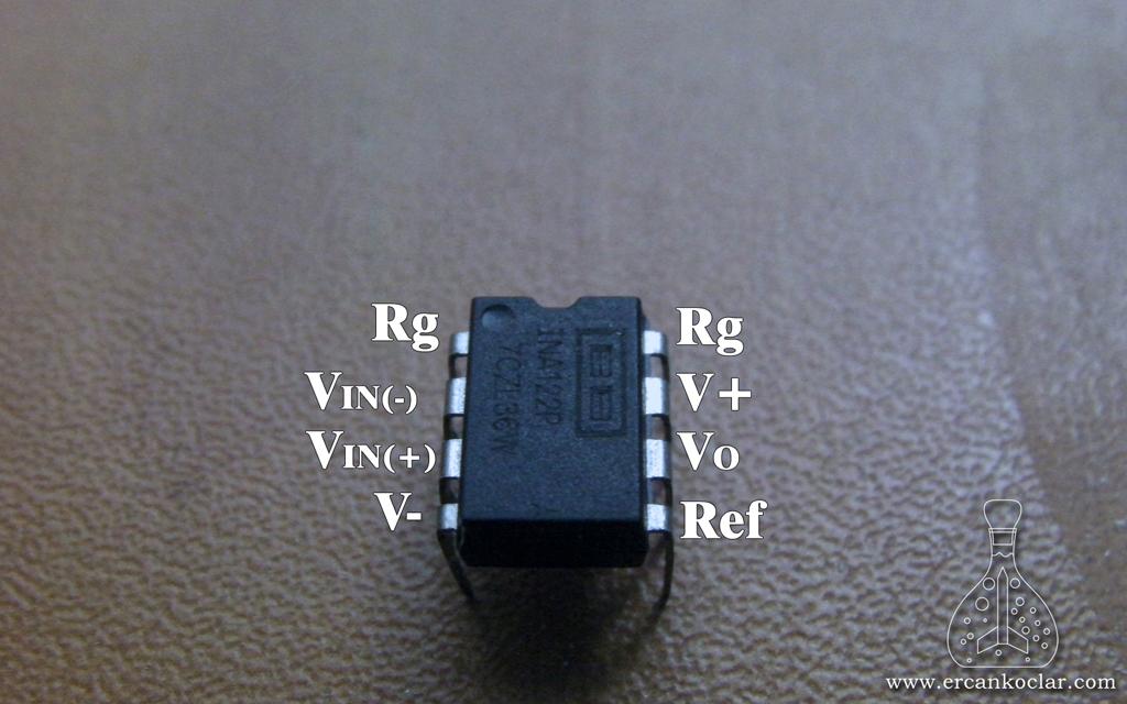 INA122-YukHucresi-INA122-Pinler